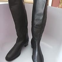 Women's Classic Black Leather Boots by