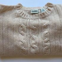 Women's Classic Elements Creamy-Beige Pullover Sweater Size X-Large 100%Acrylic Photo