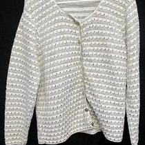 Women's Classic Elements Long Sleeve Cardigan Button Up Sweater Size Large Photo