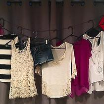 Women's Clothing Lot Size S/m American Eagle Buckle h&m Express Loft Etc. Photo