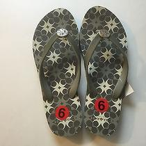 Women's Coach  A4249  Amel Flip Flop Sandals Size 6 No Box  Photo