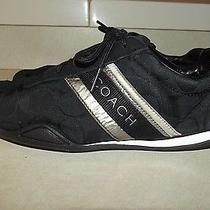 Women's Coach Athletic Jayme Shoes Size 7 - Black Photo