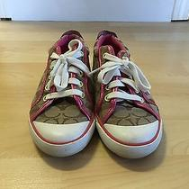 Women's Coach Barrett Sneakers Pink Size 7 Photo