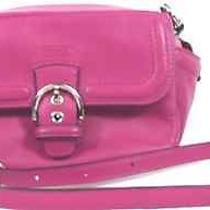 Women's Coach Campbell Leather Camera Bag Nwt Photo