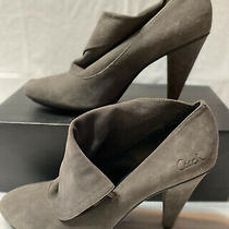Womens Coach Gray Suede Booties Size 8 in Great Condition Photo