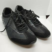 Womens Coach  Kodie Black/ Gray Signature Sneakers Size 9m Photo