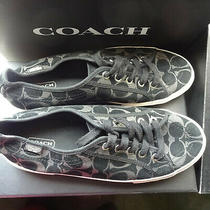 Women's Coach Signature Sneakers 9.5 Photo