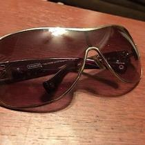 Women's Coach Silver Purple Sunglasses Model  L016 Reagan  Photo