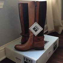Women's Cognac Frye Riding Boots Photo