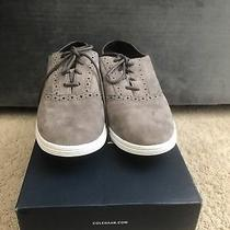 Women's Cole Haan Grey Laceup Sneakers Size 6.5 Photo