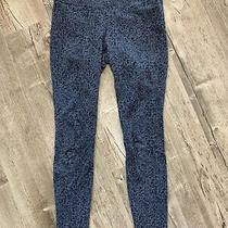 Women's Columbia Gray Black Athletic Yoga Leggings Sportswear Pants Size Small Photo