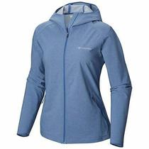 Women's Columbia Heather Canyon Softshell Jacket S Blue Rrp 80 Midlayer Photo