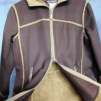 Women's Columbia Hooded Lightweight Winter Coat - Size Small - Water Resistant Photo