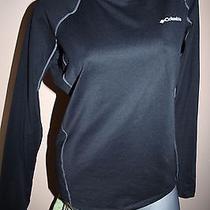 Women's Columbia Omni-Heat Athletic Shirt Black Size Medium  Photo