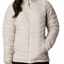 Women's Columbia Omni-Heat Thermal Reflective Powder Lite Jacket Pink Size Xs Photo