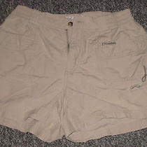 Women's Columbia Small Beige Outdoor Hiking Shorts Photo