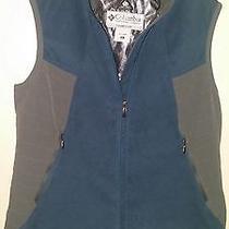 Women's Columbia Sportswear Blue Heat Elite Omni Heat Titanium Vest Size Xl Photo