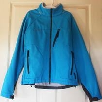 Women's Columbia Sportswear Titanium Softshell Jacket Large Blue Sporty Photo