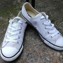 Women's Converse All Star Dainty Lilac Canvas Sneakers Size 7 Photo