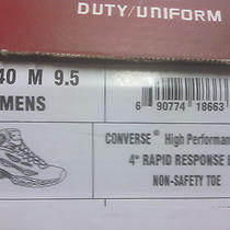 Women's Converse C840 4 Inch Rapid Response Athletic Tactical Boot 9.5 Med Nib Photo