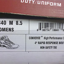 Women's Converse C840 4 Inch Rapid Response Athletic Tactical Boot 8.5 Med Nib Photo