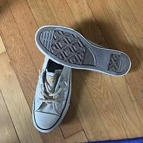 Women's Converse Chuck Taylor Shoreline White Slip-on Sneakers Shoes Size 8 Photo