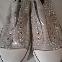 Women's Converse Sneakers Lowtops Silver Photo