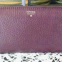 Women's Cool Burgundy Leather