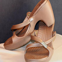 Women's Crocs Brown 3