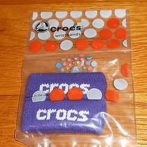 Women's Crocs Purple Wristbands Photo