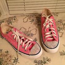 Women's Crystallized Converse Sneakers Photo