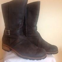 Women's Dark Charcoal Ugg Boots Waverly S/n 5572 Size 9 Used Good Condition Photo