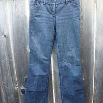 Women's Dark Jeans Express Design Studio Navy Blue 2/l Photo