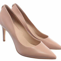 Women's Decollete Heels Guess Fl5be5lea08 Nude Leather Pink Photo