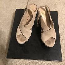 Womens Dolce Vita Wedge Nude Suede Size 7 Photo