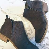 Women's Dv Dolce Vita Brown Heeled Booties Size 8 Photo