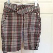 Women's Element Plaid Bermuda Shorts Size 1  Photo