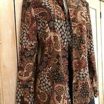 Womens Elements Cardigan Blazer Jacket Sz L Beautiful Light Summer Coat Photo