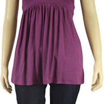 Women's Ella Moss Keira Strap v Neck Tank Purple Small Photo