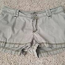 Women's Express Army Green Shorts Size 10 Photo