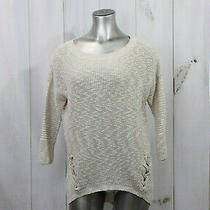 Women's Express Beige Sweater Size Small Photo
