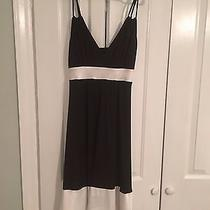 Women's Express Black and White Cocktail Dress Photo