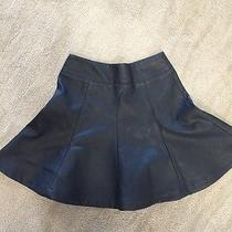 Women's Express Black Flowy Skirt Size 0 Photo