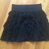 Women's Express Black Skirt Xs Photo