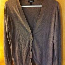 Women's Express Brown Cardigan v-Neck Sweater M Photo