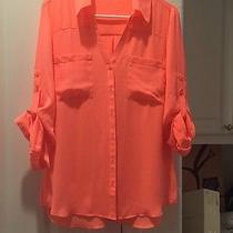 Women's Express Button Up Size Large New Photo