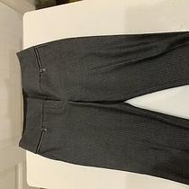 Womens Express Design Studio Gray Black Editor Dress Pants Size 2r Photo