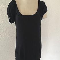 Women's Express Dress Size Small Short Sleeves Black Pockets Photo