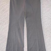 Womens Express Editor Brown Dress Pants Size 4r Photo