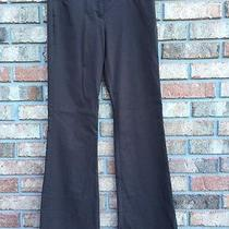 Women's Express Editor Brown Dress Pants Work Career Size 0 Photo